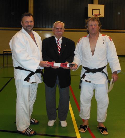 6. Dan Manfred und Bernhard mit Bucina